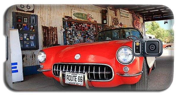 Route 66 Corvette Galaxy S5 Case