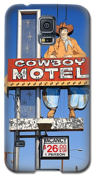 Route 66 - Cowboy Motel Galaxy S5 Case