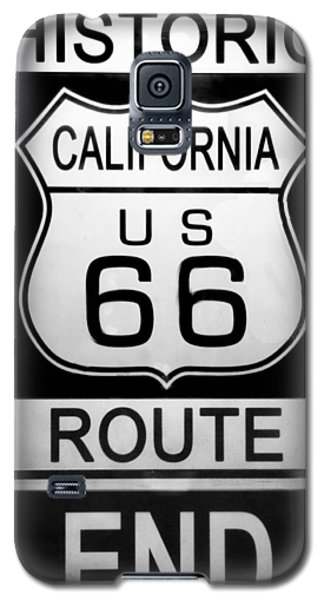 Route 66 End Galaxy S5 Case by Chuck Staley