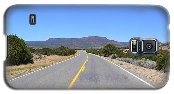 Galaxy S5 Case featuring the photograph Route 66 In New Mexico by Utopia Concepts