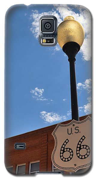 Route 66 Light Post Vivid Galaxy S5 Case