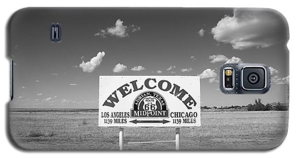 Route 66 - Midpoint Sign Galaxy S5 Case