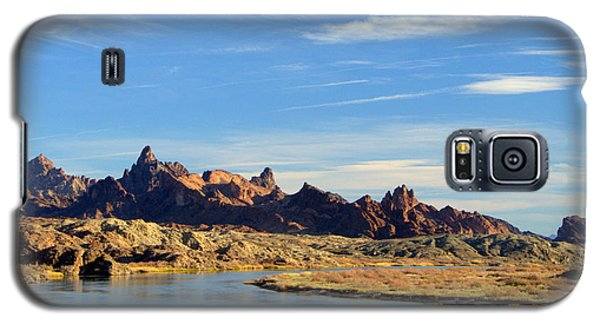 Route 66 Needles Mtn Range Two  Sold Galaxy S5 Case by Antonia Citrino