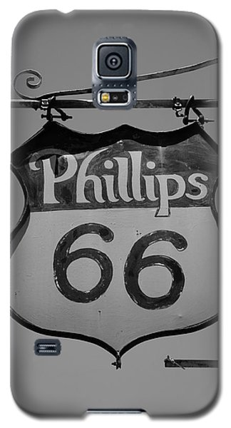 Route 66 - Phillips 66 Petroleum Galaxy S5 Case by Frank Romeo