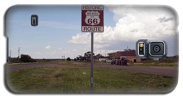 Galaxy S5 Case featuring the photograph Route 66 by Philomena Zito