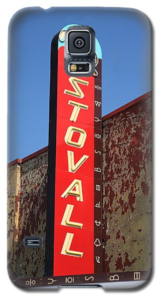 Route 66 - Stovall Theater Galaxy S5 Case by Frank Romeo