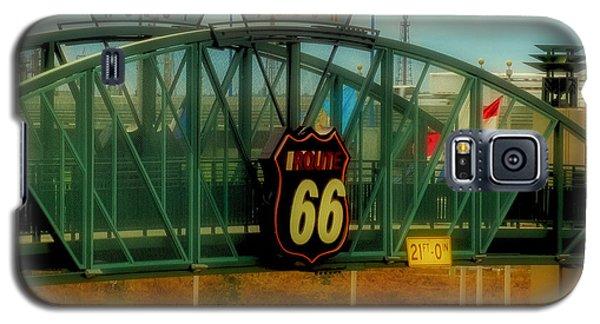 Route 66 Polaroid - Large Format - No Transfer Border Galaxy S5 Case