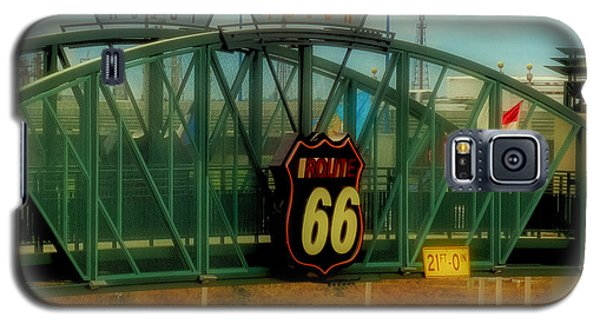 Route 66 Polaroid - Large Format - No Transfer Border Galaxy S5 Case
