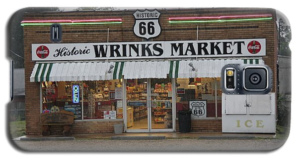 Route 66 - Wrink's Market Galaxy S5 Case by Frank Romeo