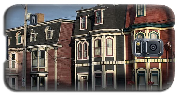 Galaxy S5 Case featuring the photograph Row Houses by Douglas Pike