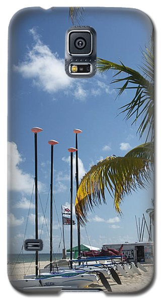 Row Of Sailboats Galaxy S5 Case