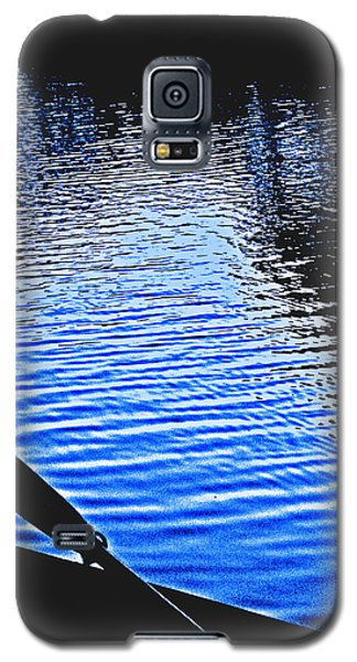 Rowboat At Sunset Galaxy S5 Case