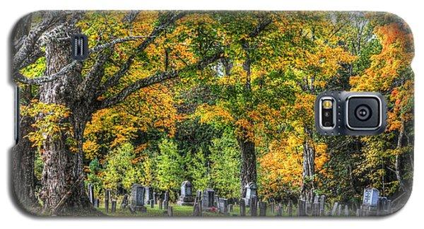 Rowell Cemetery Galaxy S5 Case by John Nielsen