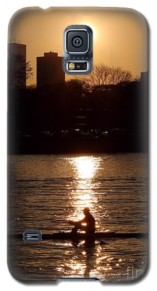 Rower Sunrise Galaxy S5 Case