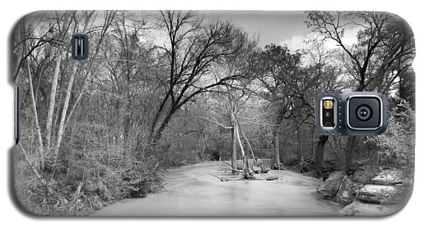 Galaxy S5 Case featuring the photograph Rowlett Creek by Darryl Dalton