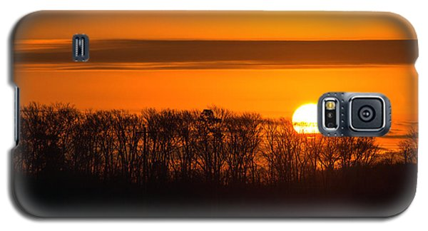 Galaxy S5 Case featuring the photograph Roxanna Sunrise by Bill Swartwout