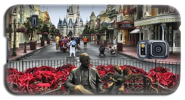 Roy And Minnie Mouse Walt Disney World Galaxy S5 Case by Thomas Woolworth