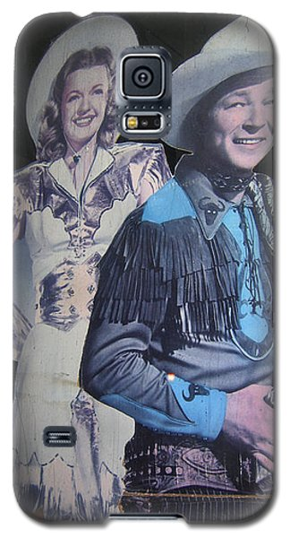 Roy Rogers And Dale Evans #2 Cut-outs Tombstone Arizona 2004 Galaxy S5 Case