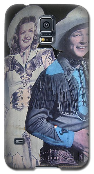 Roy Rogers And Dale Evans #2 Cut-outs Tombstone Arizona 2004 Galaxy S5 Case by David Lee Guss