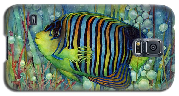 Royal Angelfish Galaxy S5 Case