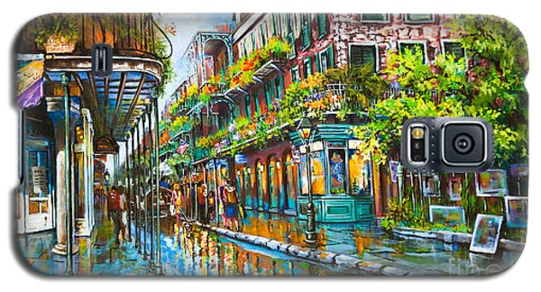 Royal At Pere Antoine Alley, New Orleans French Quarter Galaxy S5 Case by Dianne Parks