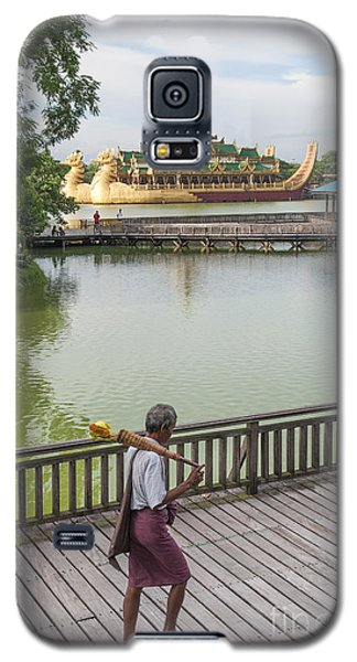 Royal Barge In Yangon Myanmar  Galaxy S5 Case