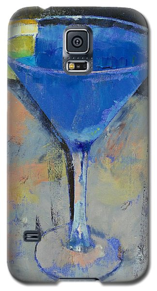 Royal Blue Martini Galaxy S5 Case by Michael Creese