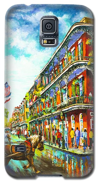 Royal Carriage - New Orleans French Quarter Galaxy S5 Case by Dianne Parks