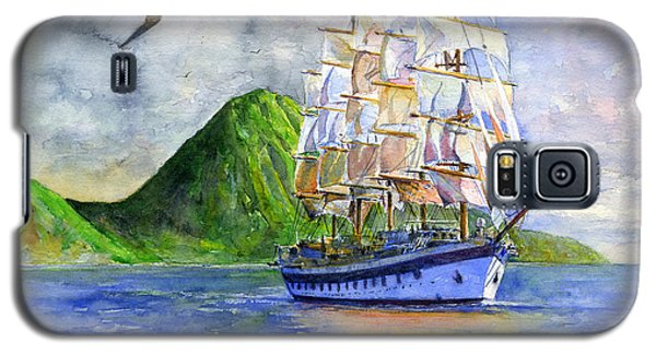 Royal Clipper Leaving St. Lucia Galaxy S5 Case