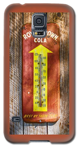 Royal Crown Barn Thermometer Galaxy S5 Case