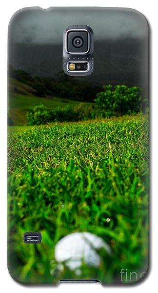 Galaxy S5 Case featuring the photograph Royal Hawaiian Golf by Angela DeFrias
