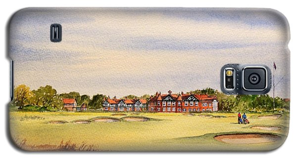 Royal Lytham And St Annes Golf Course Galaxy S5 Case