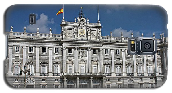 Galaxy S5 Case featuring the photograph Royal Palace Of Madrid by Farol Tomson