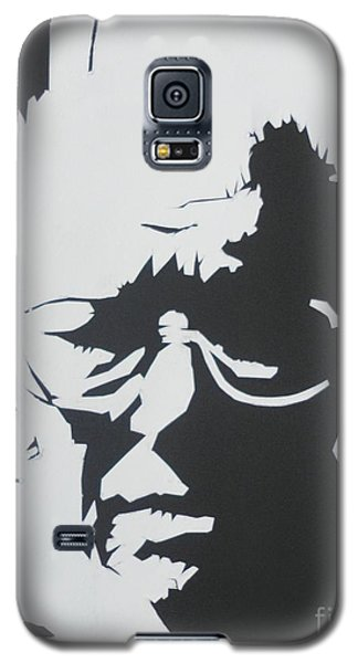 Galaxy S5 Case featuring the drawing Royal's Portrait by PainterArtist FINs husband Maestro