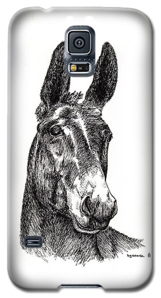 Galaxy S5 Case featuring the painting Royalty by Bill Searle