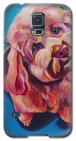 Rozzie In Pink Galaxy S5 Case