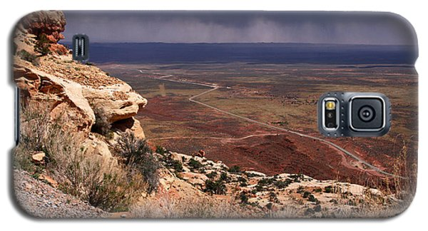 Rt. 261 From Moki Dugway Galaxy S5 Case by Butch Lombardi