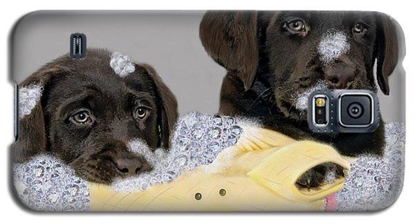 Galaxy S5 Case featuring the photograph Rub-a-dub-dub by Sami Martin
