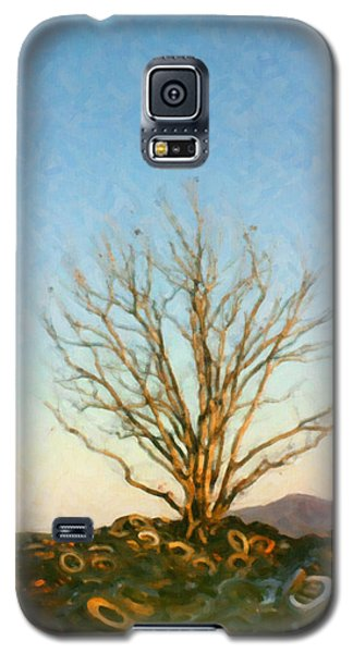 Galaxy S5 Case featuring the digital art Rubber Tree by Spyder Webb