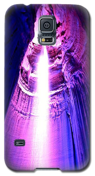 Galaxy S5 Case featuring the photograph Ruby Falls by Cathy Shiflett