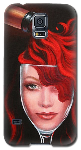 Ruby Red Galaxy S5 Case