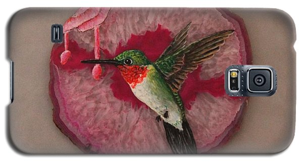 Ruby Throated Hummer Galaxy S5 Case