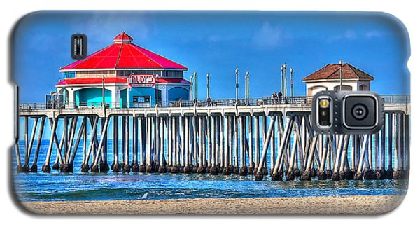 Ruby's Surf City Diner - Huntington Beach Pier Galaxy S5 Case