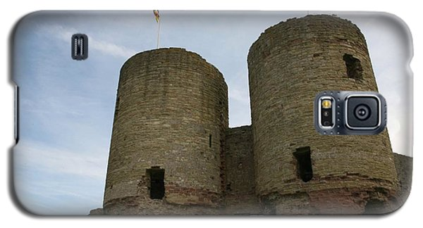Ruddlan Castle Galaxy S5 Case by Christopher Rowlands