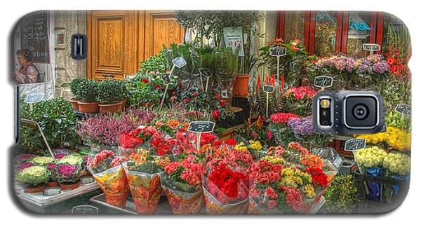 Rue Cler Flower Shop Galaxy S5 Case