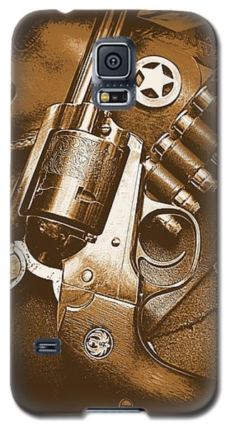 Ruger Super Blackhawk In Sepia 1 Galaxy S5 Case