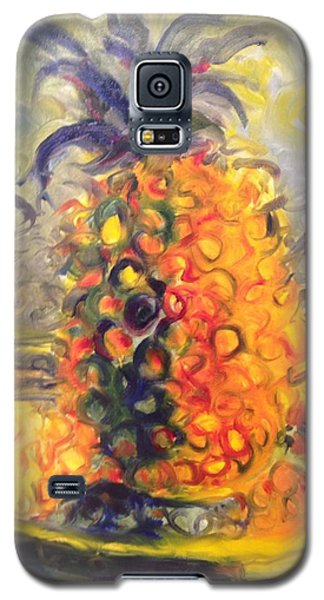 Rugged Orange Galaxy S5 Case