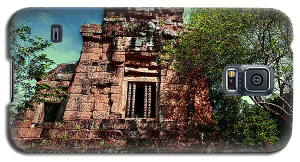 Ruin At Angkor Galaxy S5 Case