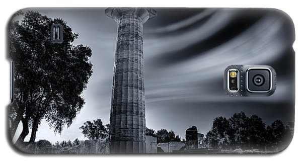 Galaxy S5 Case featuring the photograph Ruins Of Zeus's Temple At Olympia by Micah Goff