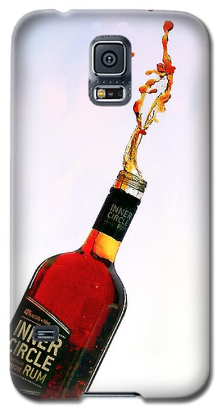 Galaxy S5 Case featuring the photograph Rum Art 01 by Kevin Chippindall